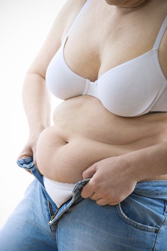 Belly fat is risky in menopause
