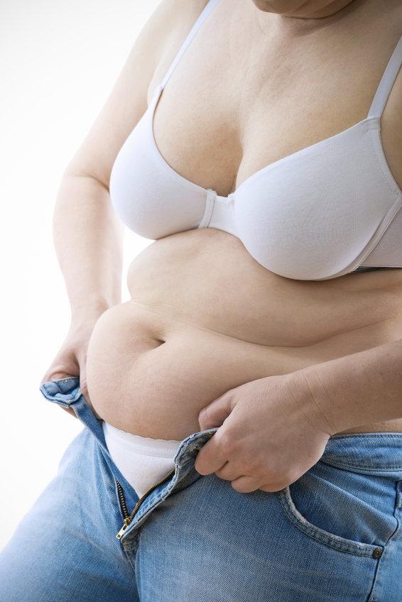 Belly fat is risky in menopause